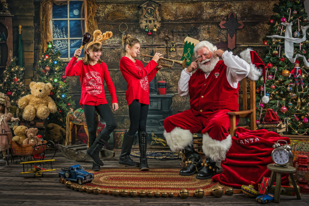 Ultimate Santa Experience - Your Journey Studios - Music is load