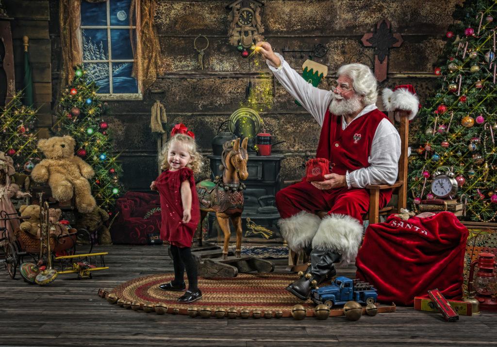 Ultimate Santa experience - Your Journey Studios - Girl Dancing