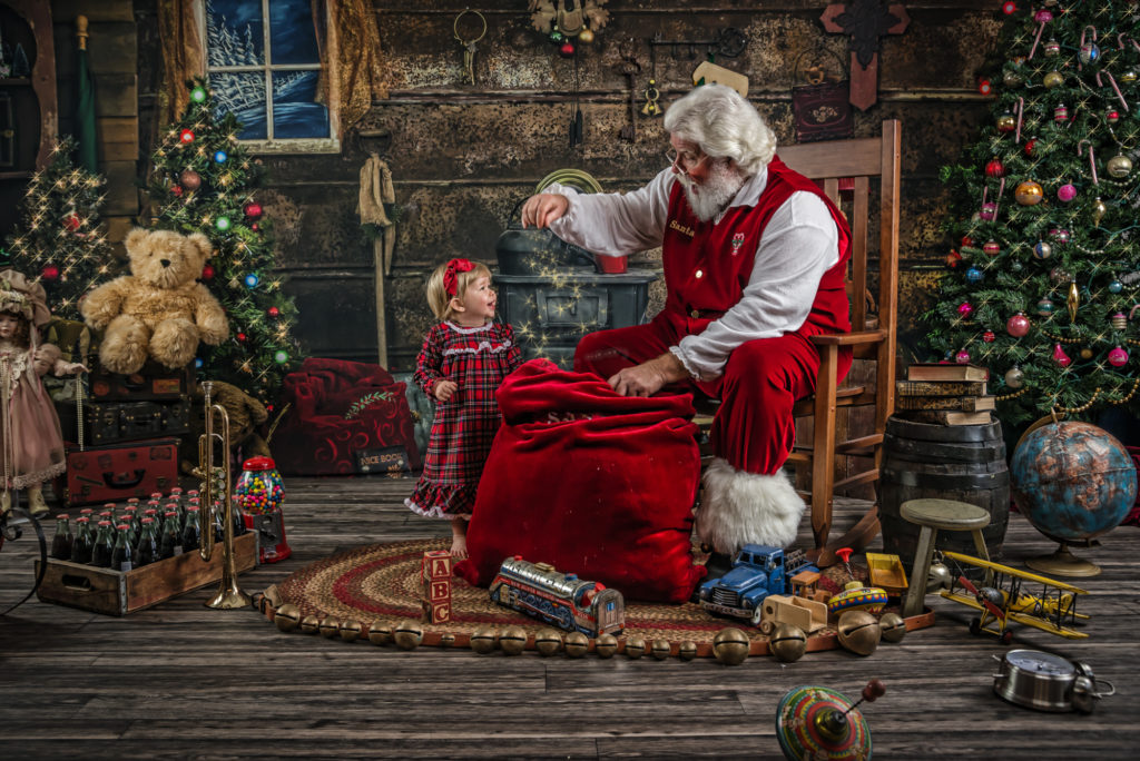 Santa photos at Your Journey Studios