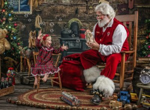 Ultimate Santa Experience - Your Journey Studios - laughing